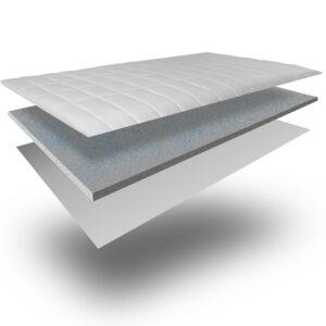 ypnos ανωστρωμα gel memory foam 7 cm